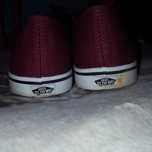 Vans Shoes - Maroon vans
